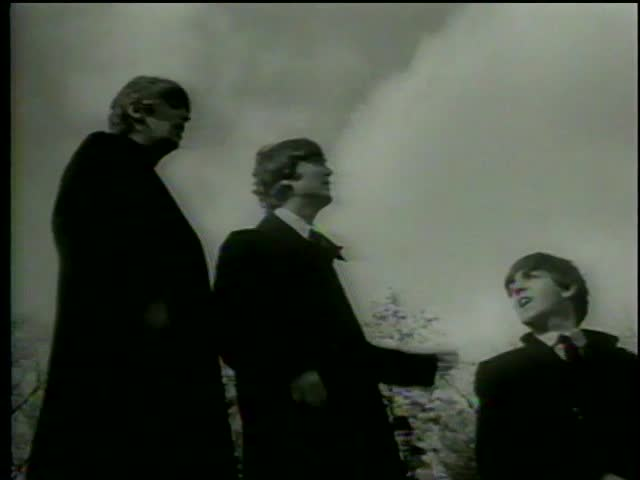 A photo shoot of English rock'n'roll band the Beatles in Central Park, New York circa 1964-MGM PICTURES, UNIVERSAL-INTERNATIONAL NEWSREEL, USA, filmed in 1964
