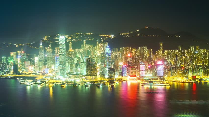 Hong Kong architecture. Timelapse | Shutterstock HD Video #4004191