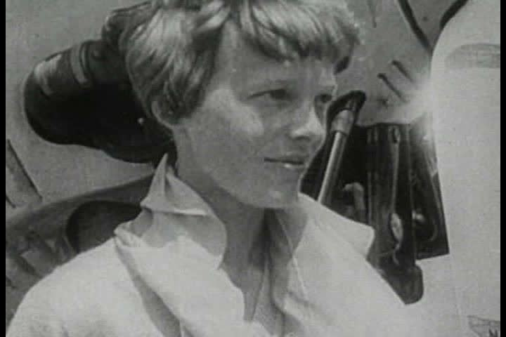 Header of Amelia Earhart