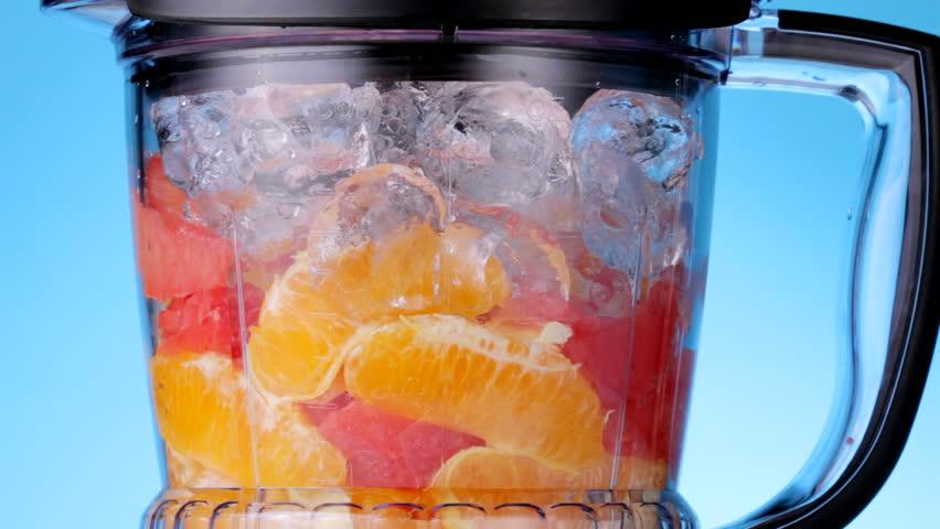 Orange and Red Grapefruit Smoothie
