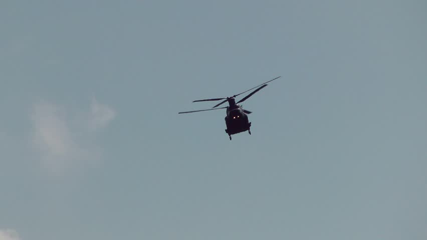 Chinook Military Helicopter