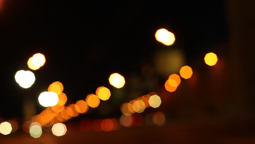 Abstract. Blurred Big City Lights, Night Street (HD) Stock ...  Abstract. Blurr...