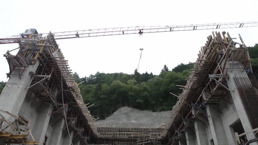 Construction Zone - Area | Shutterstock HD Video #4088539