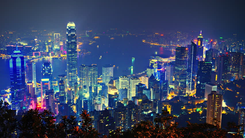 Hong Kong cityscape | Shutterstock HD Video #4106215