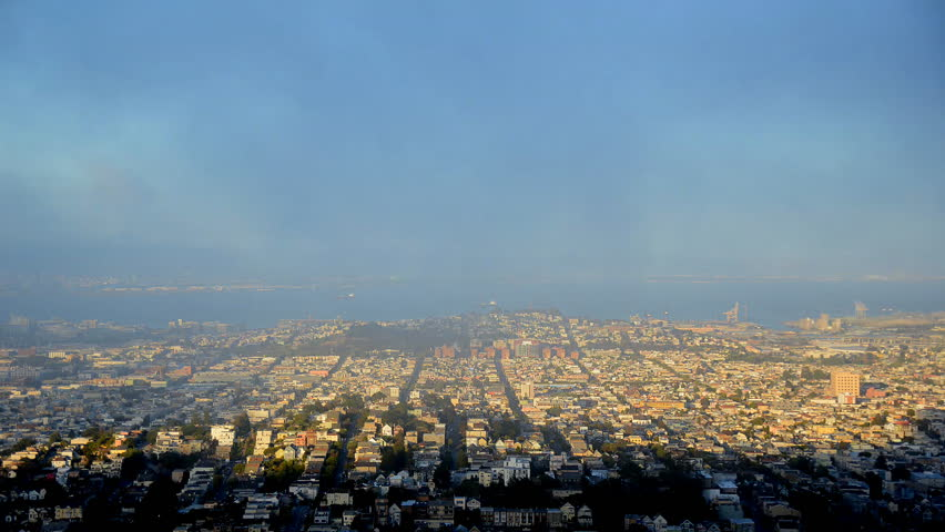 Time Lapse of Foggy San Francisco