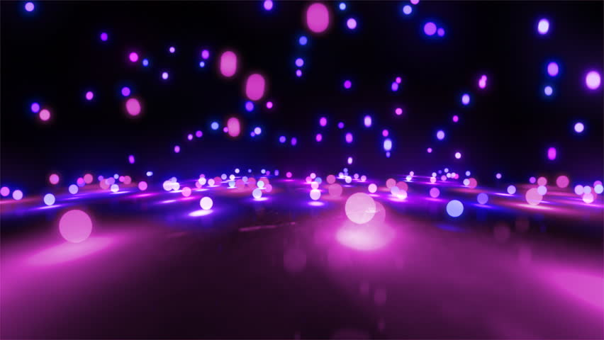 Colorful light balls background can be use for any fashion and concert theme. | Shutterstock HD Video #4198438