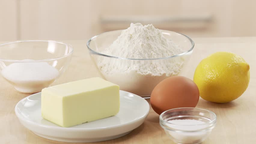 Ingredients for shortcrust pastry stock footage video for Shortcrust pastry ingredients