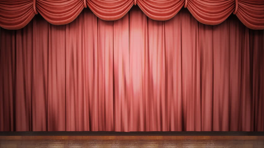 Curtains Ideas blue stage curtains : Stage Curtain. Theater Curtain. Stock Footage Video 1851502 ...
