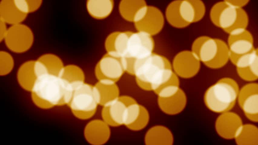 Bokeh Wallpapers High Quality: Orange Bokeh Animation Background Stock Footage Video