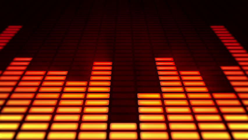 Music Bars Wallpaper: Audio Equalizer Bars Moving. Music Control Levels