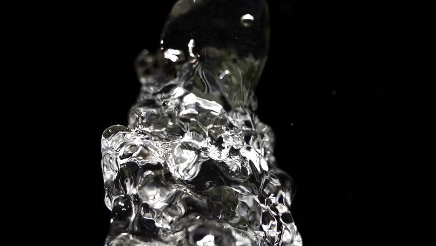Water Highspeed Slomotion