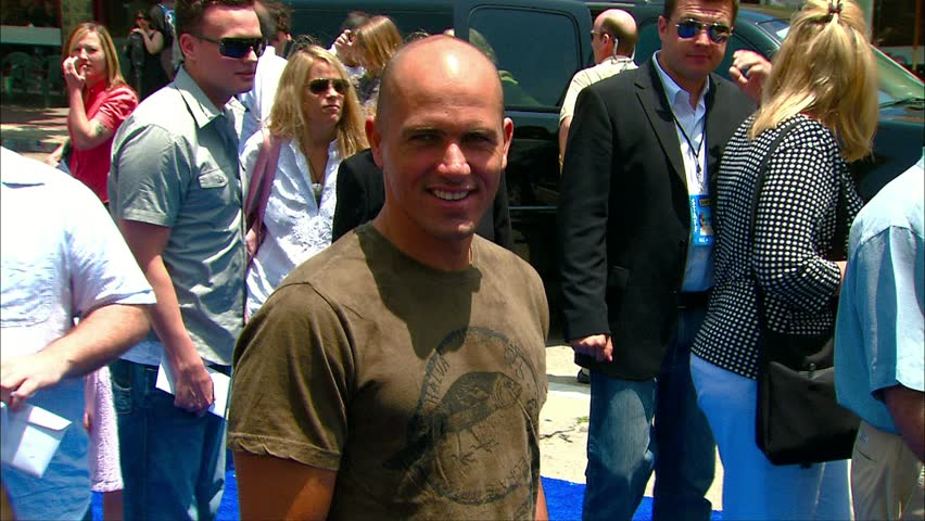 LOS ANGELES - June 2, 2007: Kelly Slater at the Surfs Up Premiere in the Village Theater in Los Angeles June 2, 2007