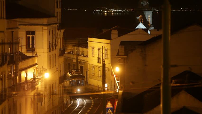 The famous tram 28 in Lisbon