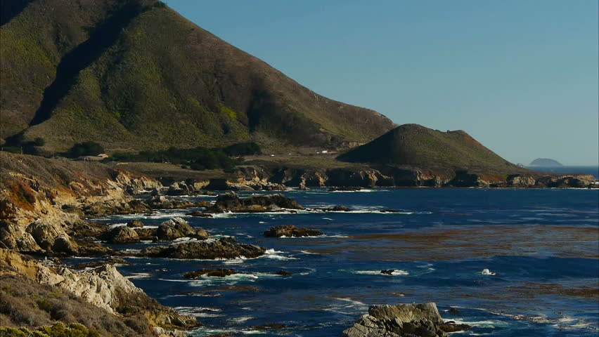 Big Sur Coast - HD stock video clip