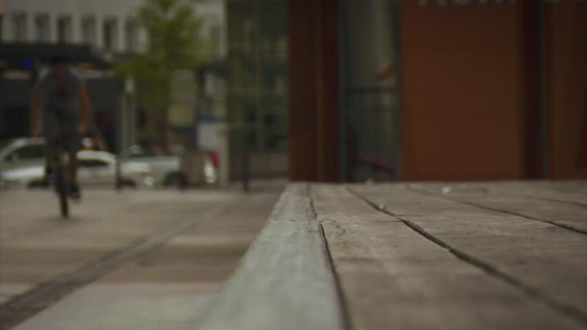 BMX: Grind towards camera