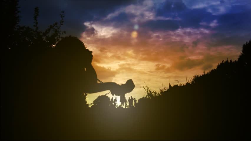 BMX: Superman   Shutterstock HD Video #498358