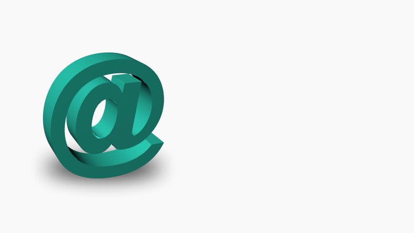 Animation of an email Symbol  | Shutterstock HD Video #509239