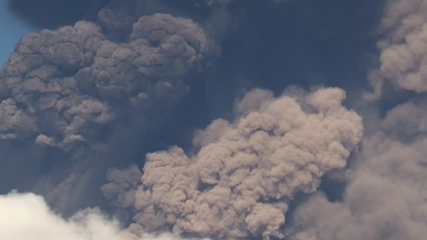 Volcanic ash (Etna 11/24/13)