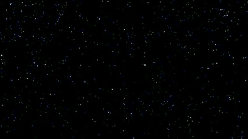 Stars and space background animation vertical motion