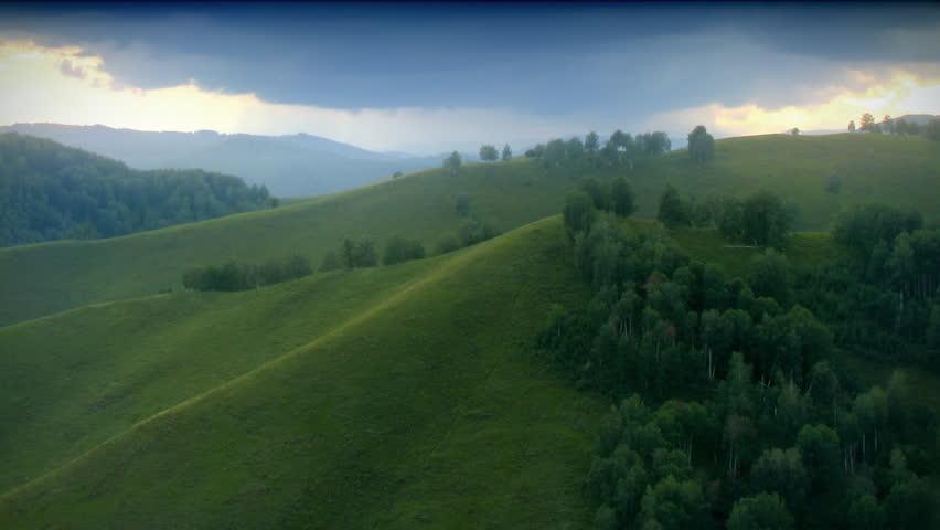 Green hills timelapse. | Shutterstock HD Video #517447