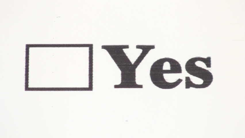 Yes or no check box stock photo. Image of voting, colour ... |Check Box Yes