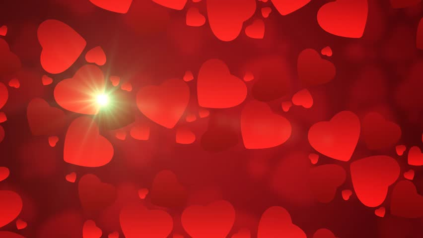 Valentine's Day Background, Nice Moving Textures, Loop
