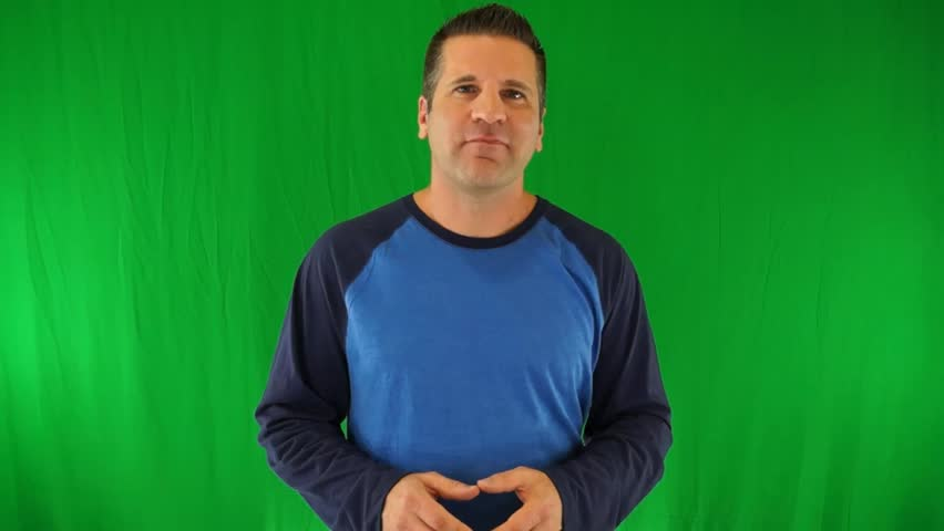 Generic Testimonial for a Energy Supplement on Green Screen