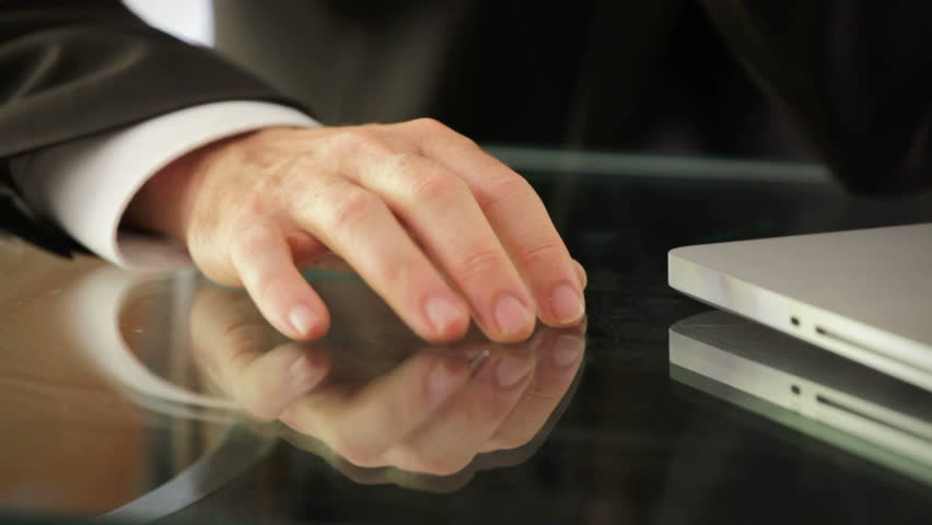 businessman waiting - closeup hand finger tapping - HD 1080 - HD stock footage clip