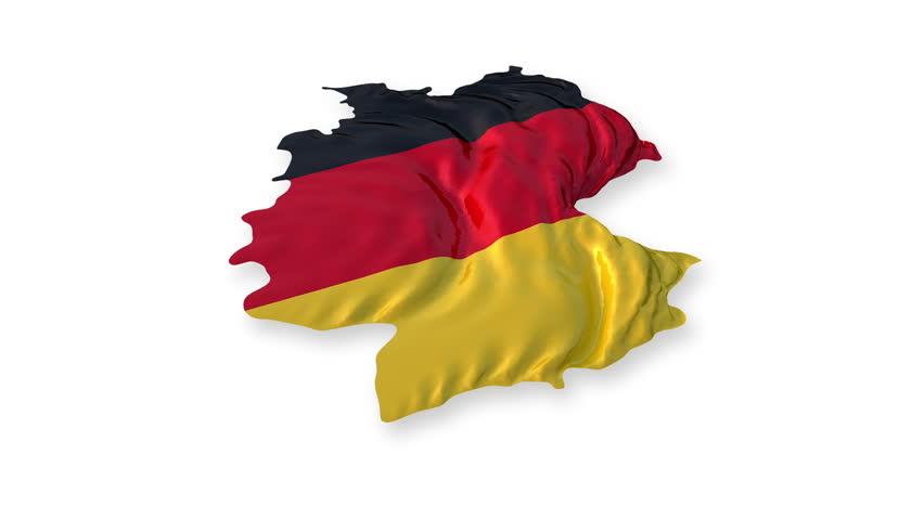 germany flag stock footage video shutterstock. Black Bedroom Furniture Sets. Home Design Ideas