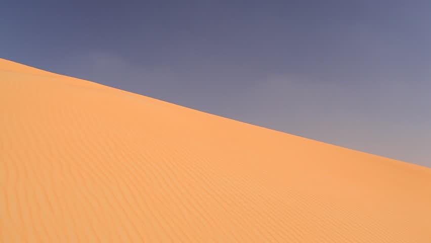 businessman lost in desert - HD stock video clip