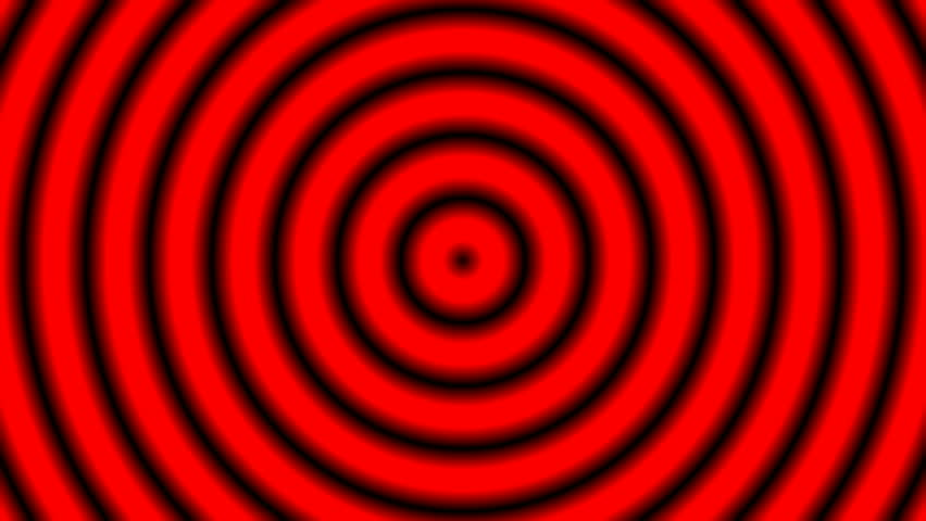 Loopable seamless cyclic animated sequence with expanding circles usual for presentations, movies, advertising etc. - HD stock footage clip