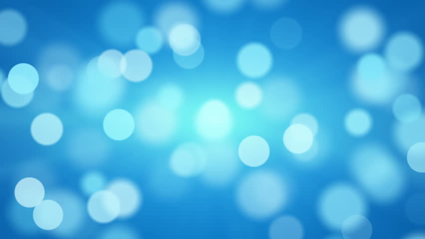 Shiny Blue Defocused Lights. Computer Generated Seamless ...