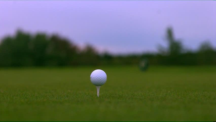 Golf Slowmotion. Phantom HD 720P