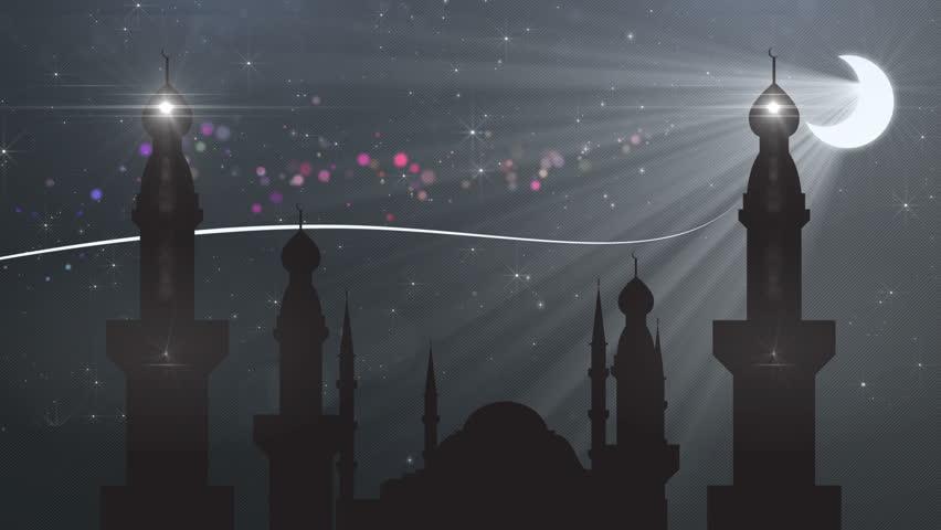abstract background ramadan ( ramazan ) - HD stock video clip
