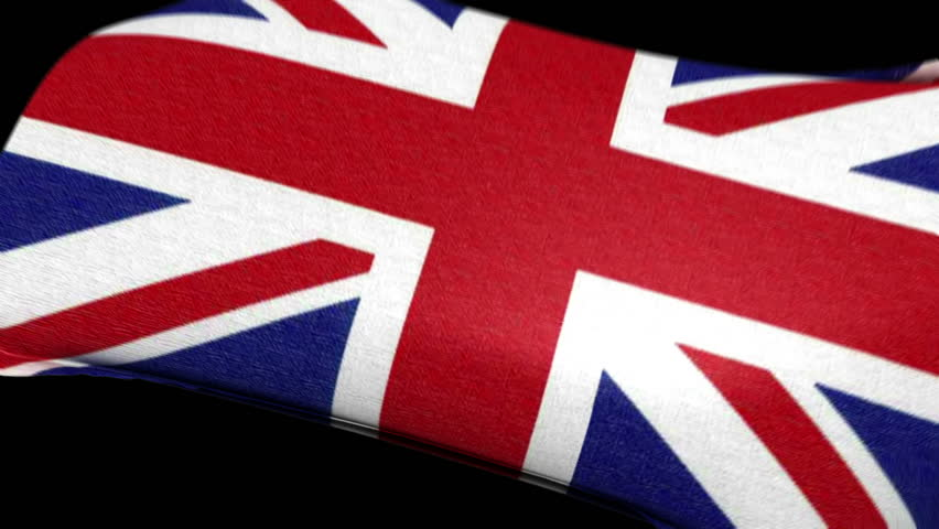 UK Flag wrapped over invisible heart. Comes with the Alpha Matte