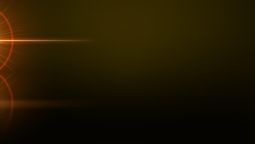 Light streaks with lens flare