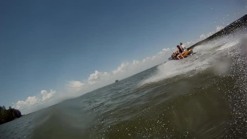 Jetski chase 2 | Shutterstock HD Video #6756778
