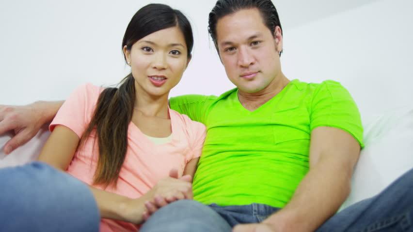 Asian couple webcam
