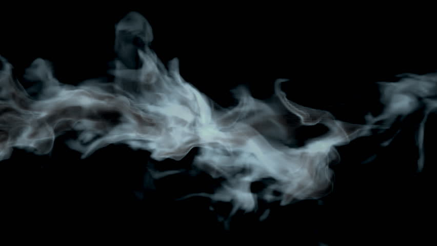 Smoke Abstract Video, High-definition 3d Render, HD 1080p