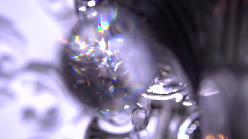 Chandelier close up. - HD stock footage clip