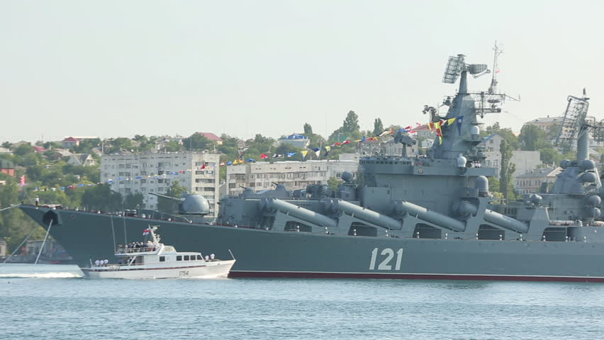 Crimea, Sevastopol - July 27 2014 - Russian Navy Day ...