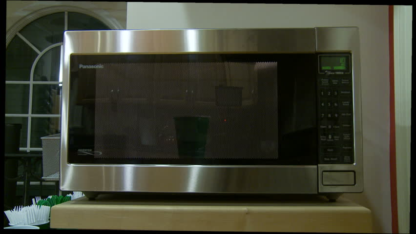 how to set clock on microwave