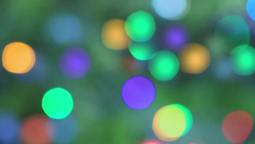 Abstract bokeh background  - HD stock video clip