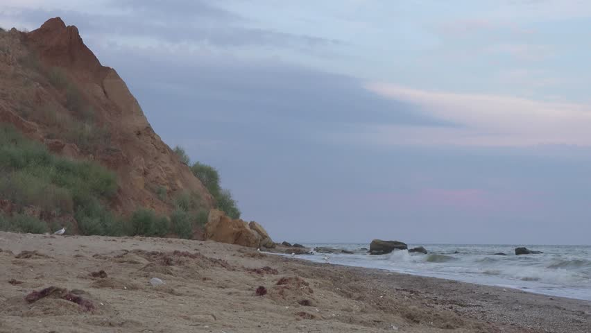 Black Sea beach vacation 4k
