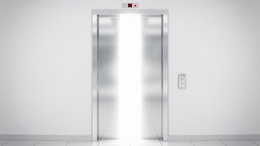 Elevator Opening The Door Stock Footage Video 1845025