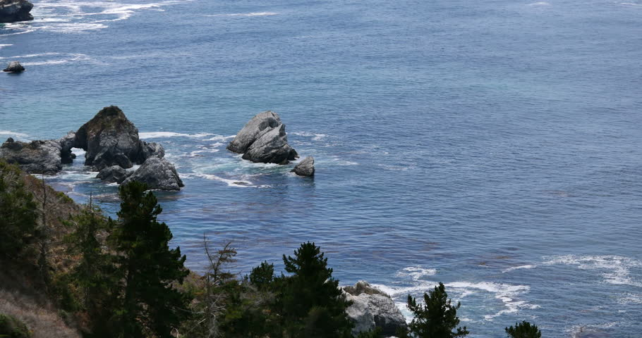 Big Sur 19 Pacific Coastline California | Shutterstock HD Video #7212322