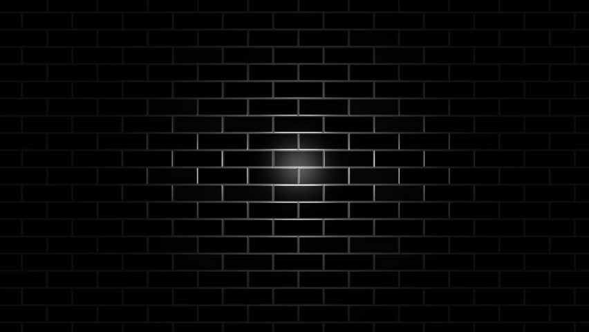 Black Wall Horizontal Movement Animated Texture Stock