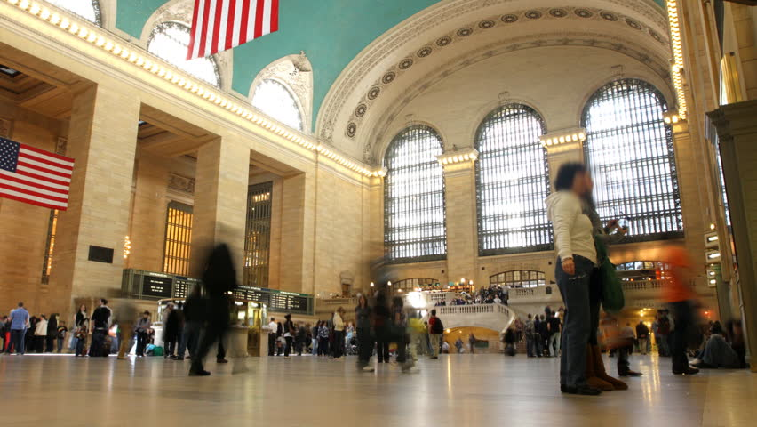 Grand Central Time Lapse 2 | Shutterstock HD Video #727912