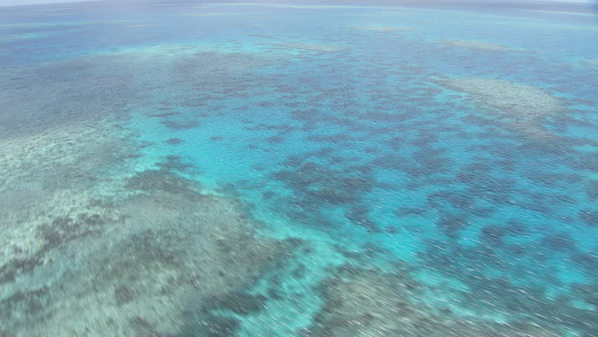 Aerial view of the Great Barrier Reef #7384375
