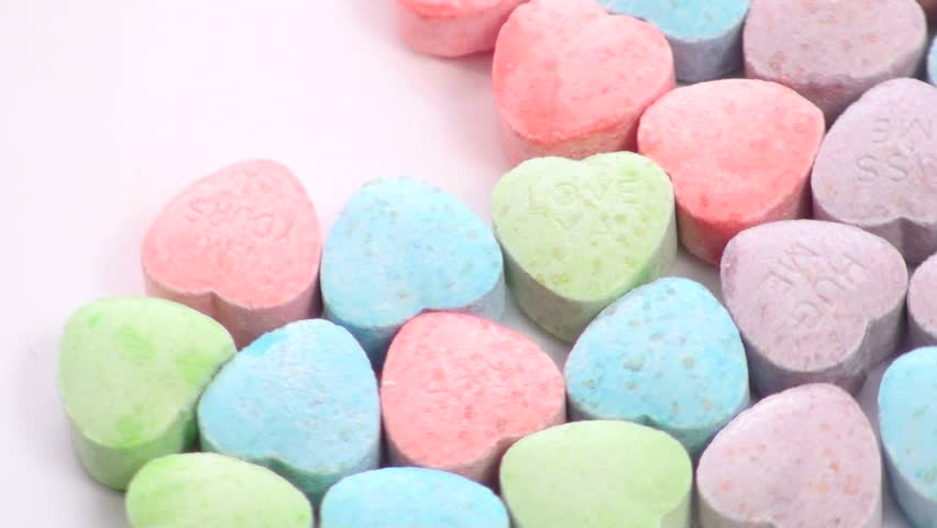Sweetheart candy zoom - NTSC - HD stock video clip